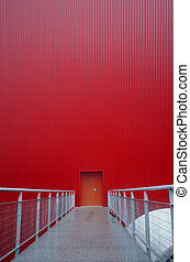 the red door and gateway