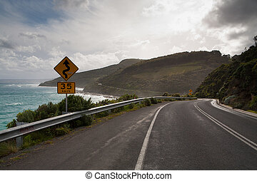 Great Ocean Rd - The Great Ocean Rd in Victoria, Australia