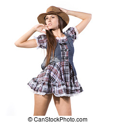 beautiful sexy country and western girl - very beautiful...