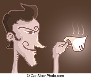 Cup of coffee - Creative design of cup of coffee