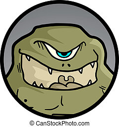 Icon monster - Creative design of icon monster