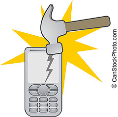 Hammer and Phone