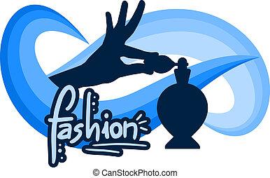 Elegance fragance - Creative design of elegance fragance