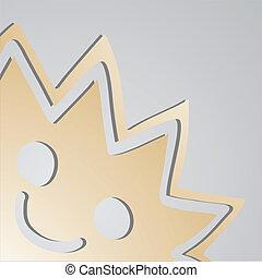 Sun character - Creative design of sun character
