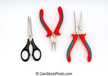 pliers - taken under studio light  with electronic flash