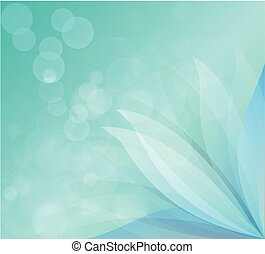 Background lotus - Background image with colorful .Vector is...