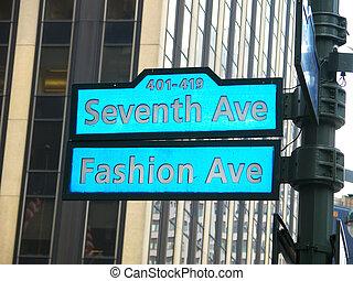 moda, avenida