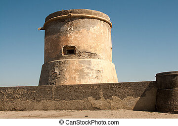 watchtower  - San Miguel of Cabo de Gata watchtower in Spain