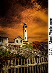 灯台, カリフォルニア, 海岸
