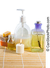 Aroma therapy - Composition for aroma therapy: soap, aroma...
