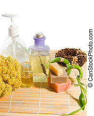 Aroma therapy - Wellnes products consist with aroma oils,...