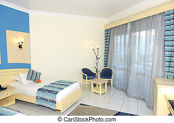 Apartment interior in the luxury hotel, Sharm el Sheikh,...