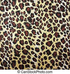 Leopardo,  seamless, Plano de fondo, piel