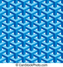 Seamless, Escher, patrón