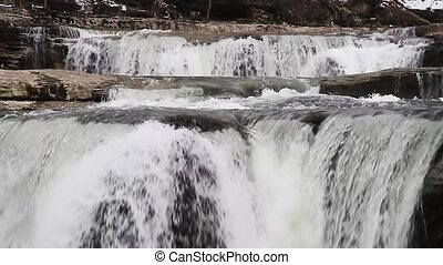 Cascading Cataract Loop - Waterfall loop features whitewater...