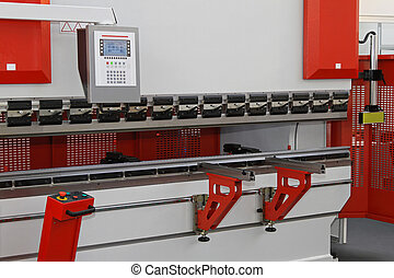 Press brake - Brake press machine for bending metal sheets