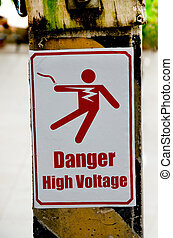 Beware of electric shock
