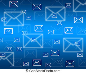 touch screen interface of the envelopes - Background...