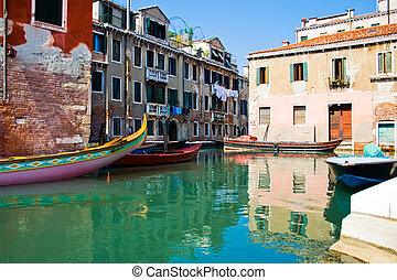 Canal in Venice - Simply one of the most beautiful canals in...