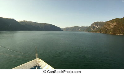 Sailing in the fjords of Norway - Sailing through the fjords...