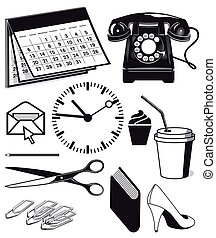 Office supplies and workplace