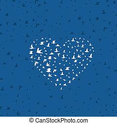 Heart a bird4