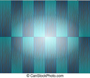 Blue wooden texture background with white center
