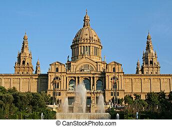 Art Gallery in Barcelona Spain