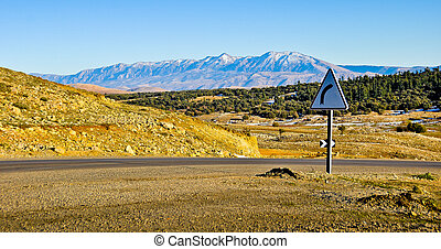 Atlas Mountains - High Atlas somewhere around Meknes in...