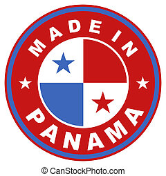 made in panama - very big size made in panama country label