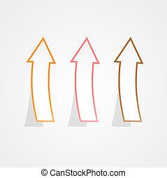 up arrows