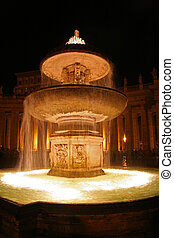 Fountain in Saint Peters, Rome