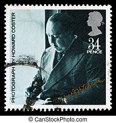 Britain Alfred Hitchcock Postage Stamp - UNITED KINGDOM -...