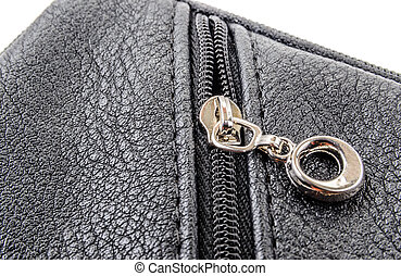 Items of clothing buttons, buckles and zippers Photo...