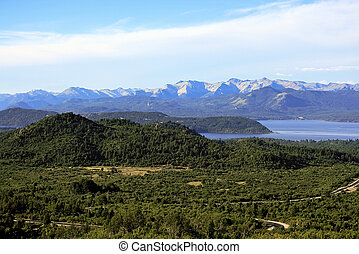 San Carlos de Bariloche and Nahuel Huapi Lake