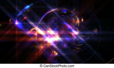 space galaxy abstract