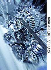 Engine - Part of car engine