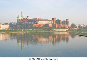 Medieval Cracow - The medieval city of Cracow in Poland