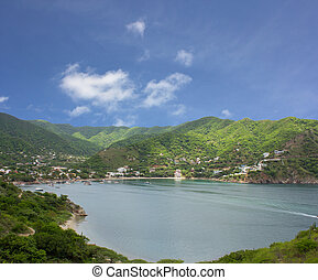 Taganga the caribbean coast of Colombia.