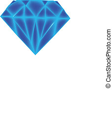 Diamond vector graphic