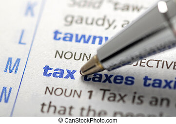 Tax - Dictionary Series