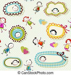 happy children background