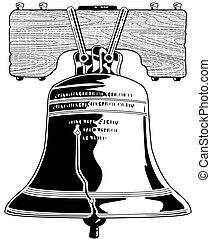 libertà, campana