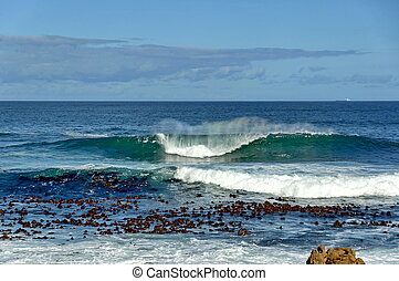 Atlantic ocean coast, Cape Town, South Africa