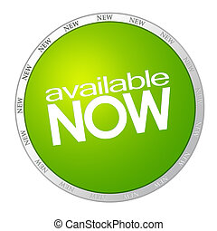 Available now green sticker - Available now - green sticker...