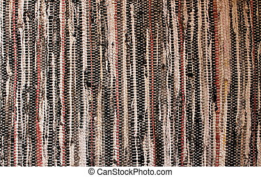 Hand woven pattern of placemat - Colorful pattern and...