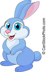 Cute rabit cartoon - Verctor illustration of cute rabit...