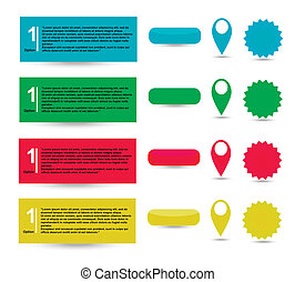 vector paper tags