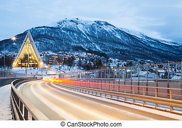 Tromso Arctic Cathedral Norway - Tromso Arctic Cathedral...