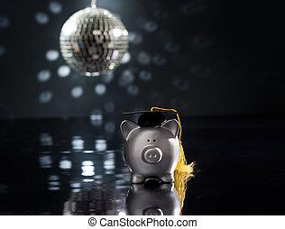 Graduation party concept